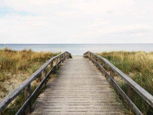 ostrowo domki nad morzem